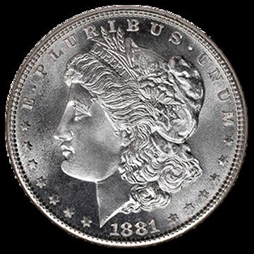 Picture of Morgan Silver Dollar (BU) 1878-1904