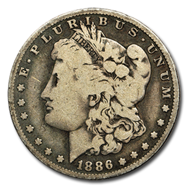 Picture of Morgan Silver Dollar (VG-EF) 1878-1904