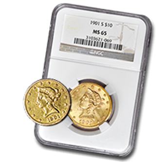 Picture for category $10 Liberty Gold Coins