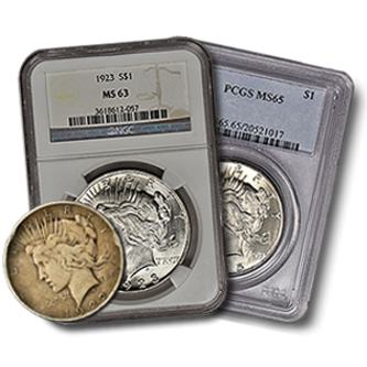 Picture for category Peace Silver Dollar