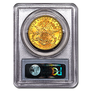 Picture of 1881S $20 Gold Liberty Double Eagle Coin MS63