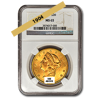 Picture of 1904 $20 Gold Liberty Double Eagle Coin MS65