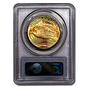 Picture of 1911D/D $20 Gold Saint Gaudens Double Eagle Coin MS64