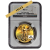 Picture of 1915S $20 Gold Saint Gaudens Double Eagle Coin MS63
