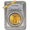 Picture of 1915S $20 Gold Saint Gaudens Double Eagle Coin MS66