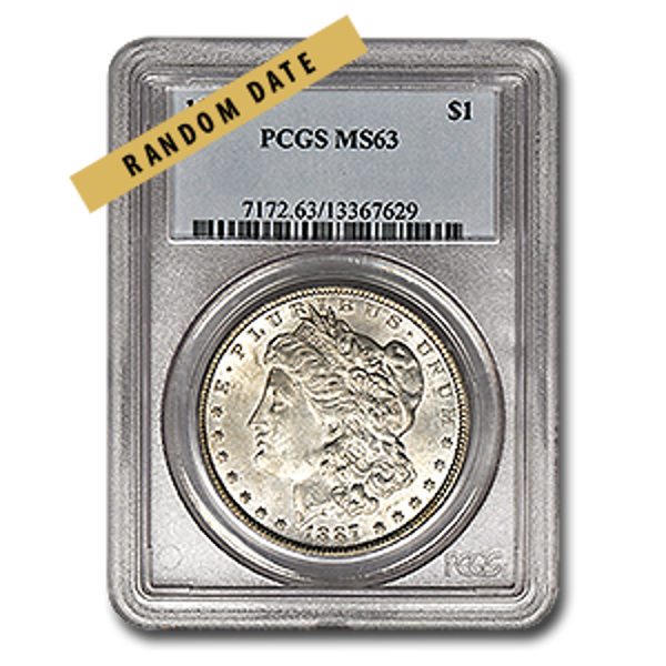 Picture of Morgan Silver Dollar MS63
