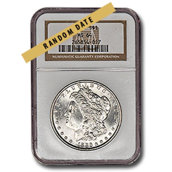Picture of Morgan Silver Dollar MS64