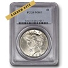 Picture of Peace Silver Dollar MS65*