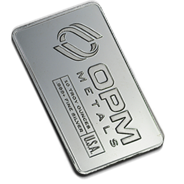 Picture of 10 oz OPM Silver Bars