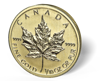 Picture of 1/10 oz Canadian Gold Maple Leaf (Common Date)