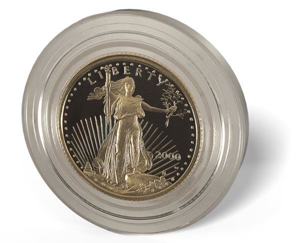 Picture of 1/10 oz American Gold Eagle Proof (Random Date)
