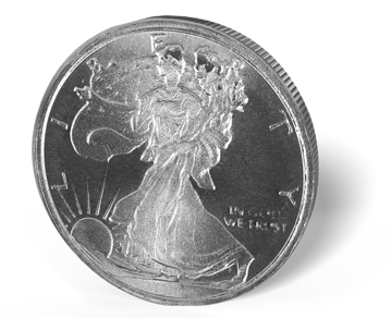 Picture of 1/10 oz Walking LibertySilver Rounds Fractional