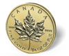 Picture of 1/4 oz Canadian Gold Maple Leaf (Common Date)