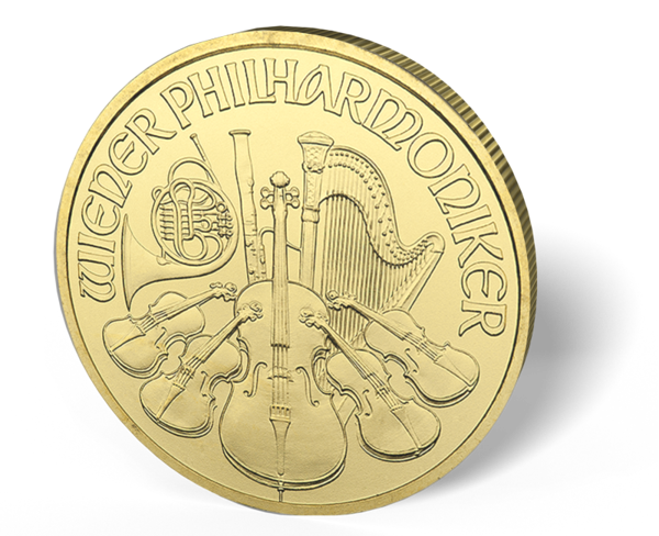 Picture of 1/4 oz Austrian Gold Philharmonic (Common Date)