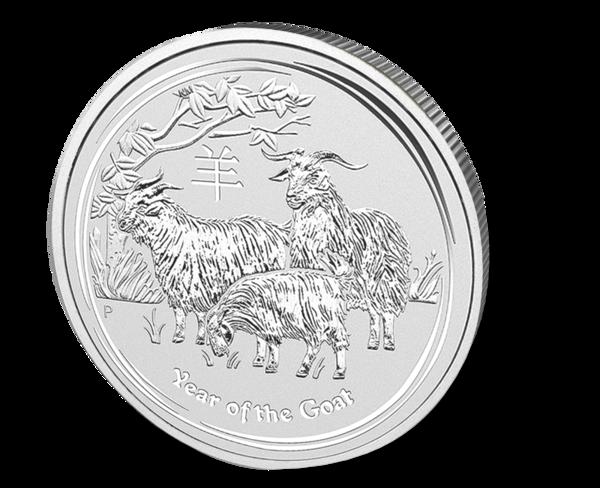Picture of 2015 1/2 oz Australian Silver Goat