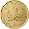 Picture of 1/2 oz Canadian Gold Maple Leaf - 2016