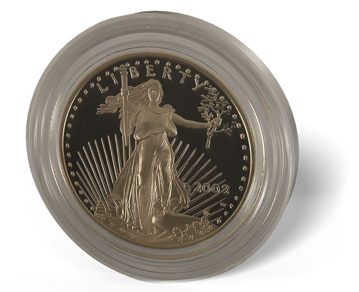 Picture of 1/2 oz American Gold Eagle Proof (Random Date)