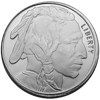 Picture of 1/2 oz Buffalo Silver Rounds Fractional
