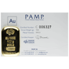 Picture of 100 Gram Pamp Gold Bar