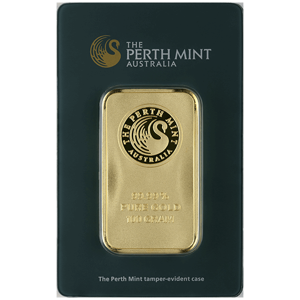 Picture of 100 Gram Perth Gold Bar