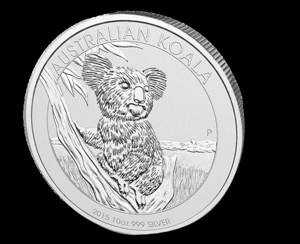 Picture of 2015 10 oz Australian Silver Koala