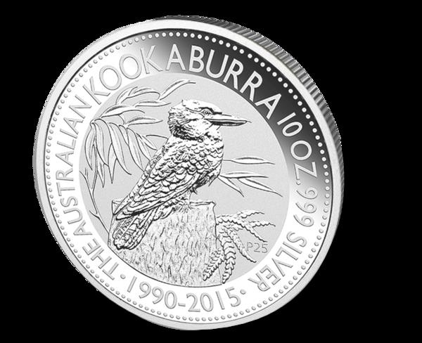 Picture of 10 oz Silver Kookaburra