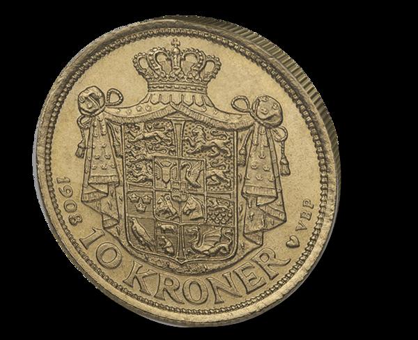 Picture of Denmark Gold 10 Kroner