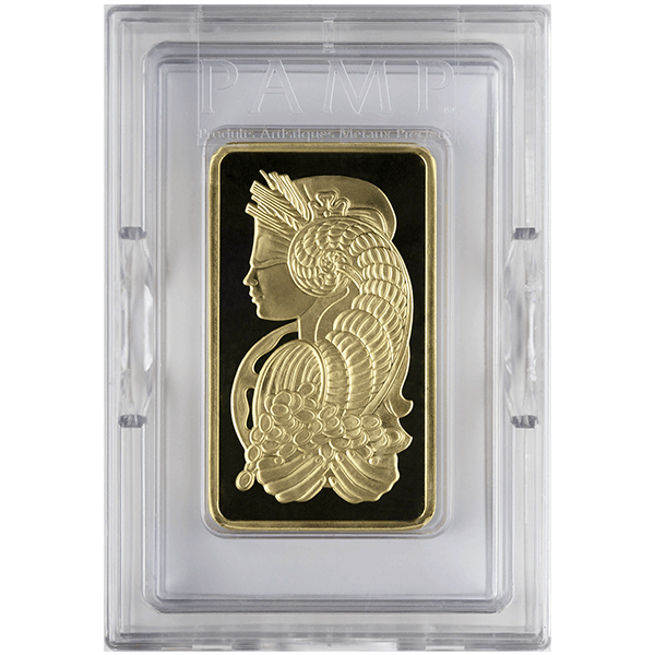 Picture of 10 oz Pamp Gold Bar