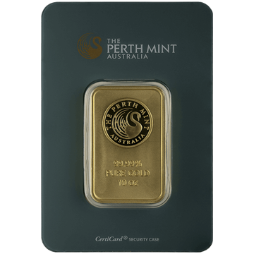 Picture of 10 oz Perth Gold Bar