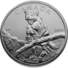 Picture of 2012 1 oz Canadian Wilderness Silver Cougar