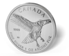 Picture of 2015 1 oz Canadian Silver Maple Leaf Red-Tail Hawk