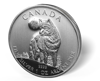 Picture of 2011 1 oz Canadian Wilderness Silver Wolf