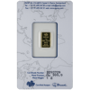 Picture of 1 Gram Pamp Gold Bar