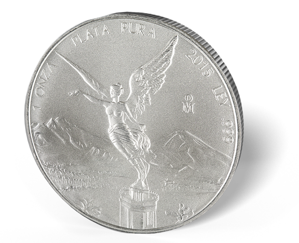Picture of 2015 Mexican 1 oz Silver Libertad