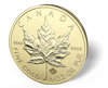 Picture of 1 oz Canadian Gold Maple Leaf - Common Date (.999 FINE GOLD)