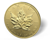 Picture of 1 oz Canadian Gold Maple Leaf Scruffy