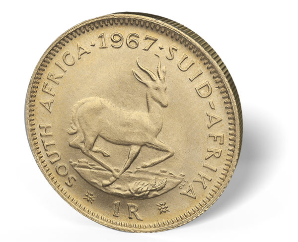 Picture of South African Gold 1 Rand