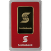 Picture of 1 oz Scotiamocatta Gold Bar