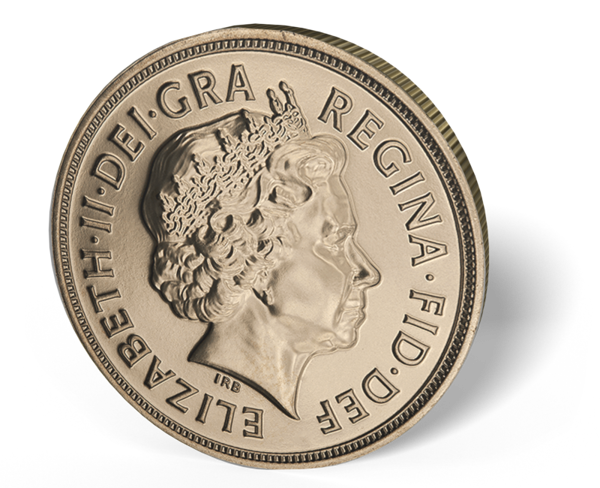 Picture of 2015 English Gold Sovereign Queen