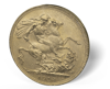 Picture of English Gold Sovereign King