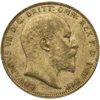 Picture of English Gold Sovereign King Edward*