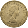 Picture of English Gold Sovereign Queen Elizabeth