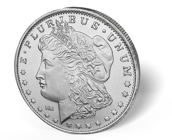 Picture of 1 oz Morgan Silver Rounds