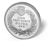 Picture of 1 oz 1933 Saint Silver Rounds