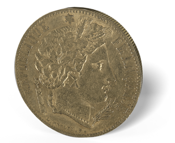 Picture of France Gold 20 Franc Ceres