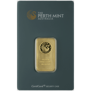 Picture of 20 Gram Perth Gold Bar