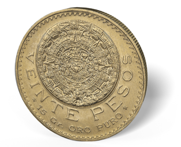 Picture of Mexican Gold 20 Peso