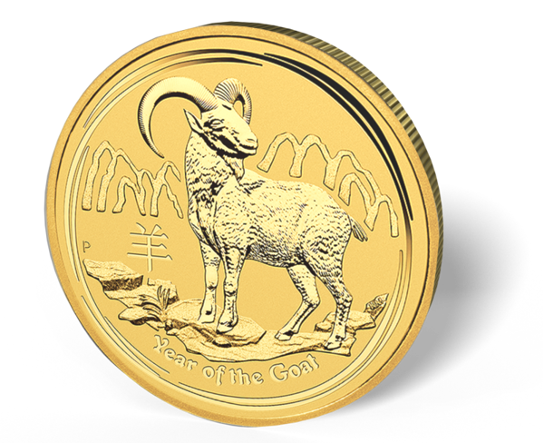 Picture of 2015 2 oz Australian Gold Goat