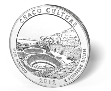 Picture of 5 oz Silver America the Beautiful - Chaco Culture National Park
