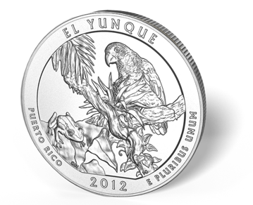 Picture of 5 oz Silver America the Beautiful - El Yunque National Park
